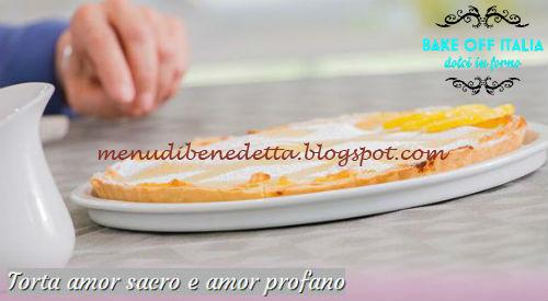 Torta amor sacro e amor profano ricetta Knam da Bake Off Italia 3
