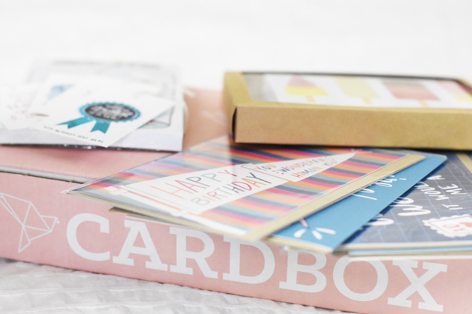 Cardbox by Sendtiment subscription greeting card and social stationery box