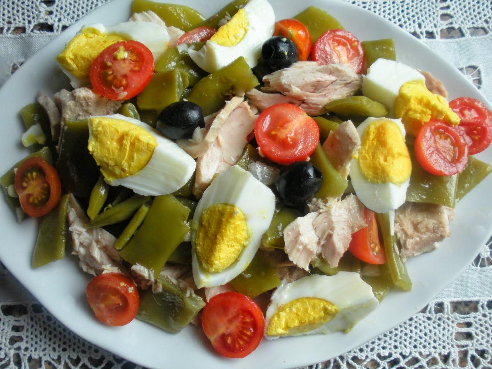 Dieta propoints calor as por d a de ensalada de jud as verdes - Calorias de las judias verdes ...