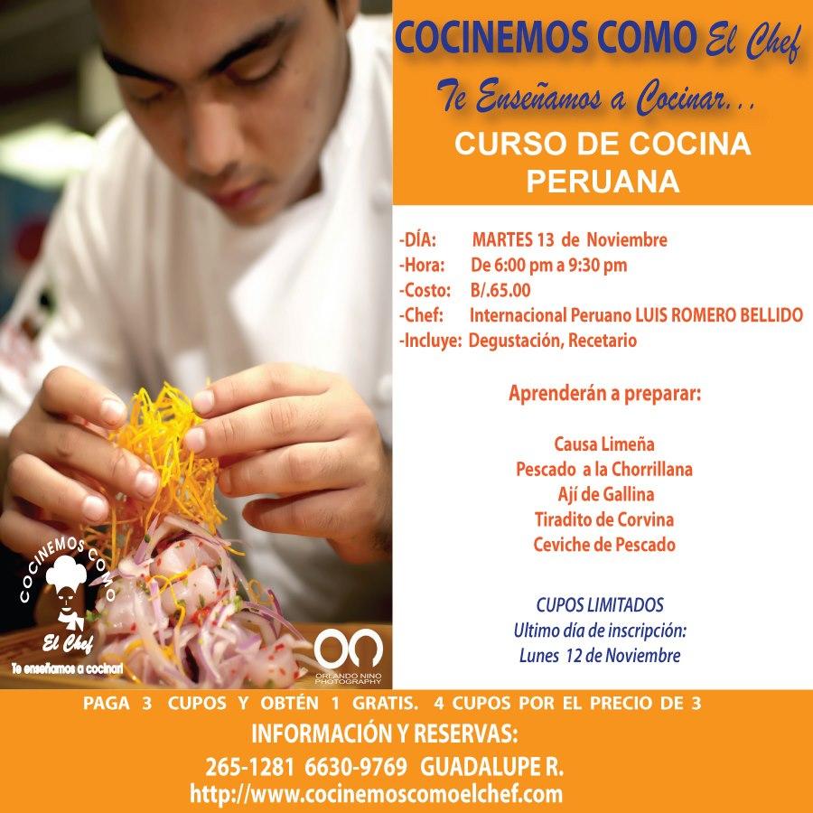 Ven y aprende a cocinar como el chef for Como aprender a cocinar