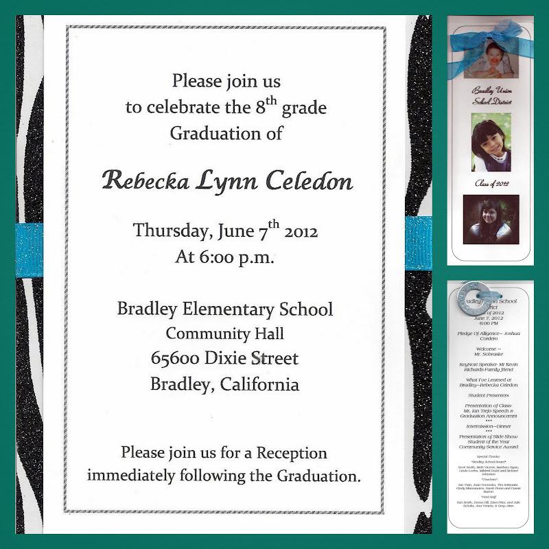 8th grade graduation favors