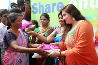 Actress Namitha Pongal Celetion Pictures in Salwar Kameez at SMK Fomra Insute of Technology  0024