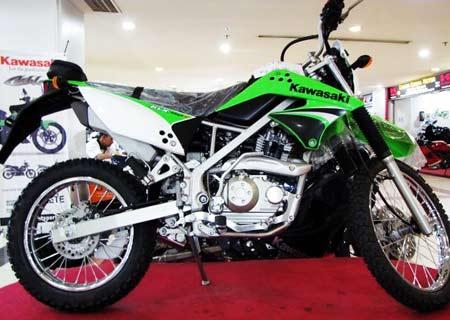 Trail Klx Motor Kawasaki Trail Klx 250