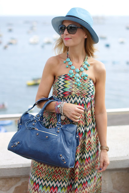 summer look, azure panama hat, ecua-andino hat, lulu love maxi dress, Fashion and Cookies