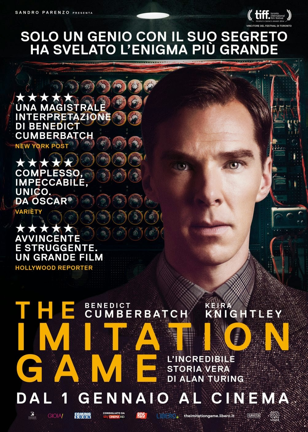 The Imitation Game recensione