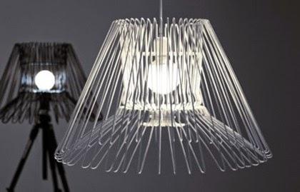 lampadari riciclati : Lampadario gruccedesign