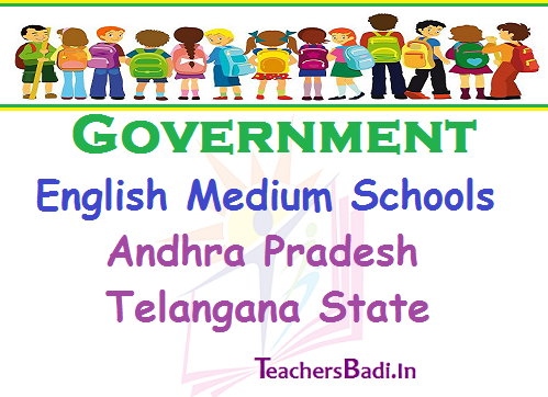 AP English Medium Schools, TS English Medium Schools