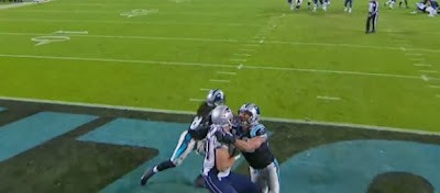 Defensive holding? Of course not!