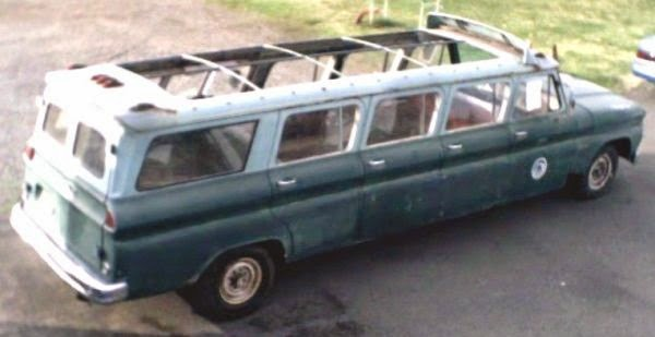 The Armbruster conversion added 5 rows of seats to the already large Suburban and a total of 4 doors on the passenger side. It still only used one door on ... & Daily Turismo: 10k: Super Sized: 1964 GMC Suburban Custom