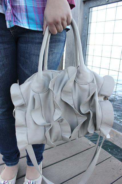 Steve Madden Ruffle Bag