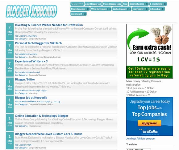 download template blogger job  Blogger Jobboard Responsive Blogspot template - WordPress themes ...
