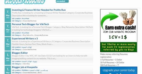 Blogger Jobboard Responsive Blogspot template | Design Cart