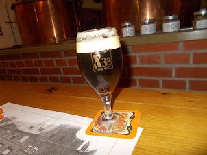 """""""X33"""" Beer served in""""U Medvidku beer hall pub"""" in  Prague"""