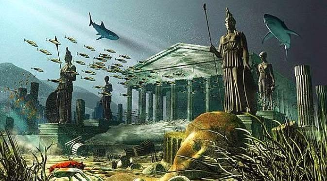 Menguak Kisah Kota Atlantis Yang HIlang