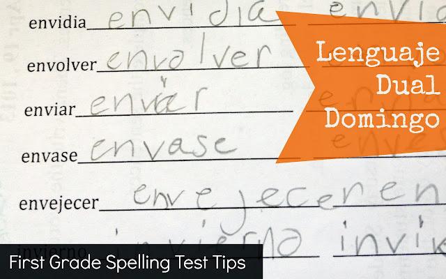 dual language spanish first grade