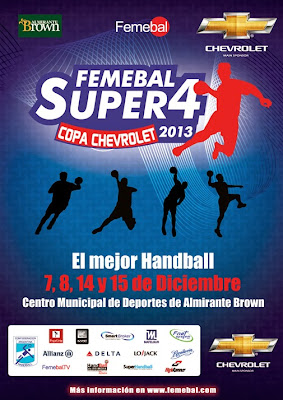 SAGV Ballester-Colegio Ward, final del Super 4 por TV | Mundo Handball