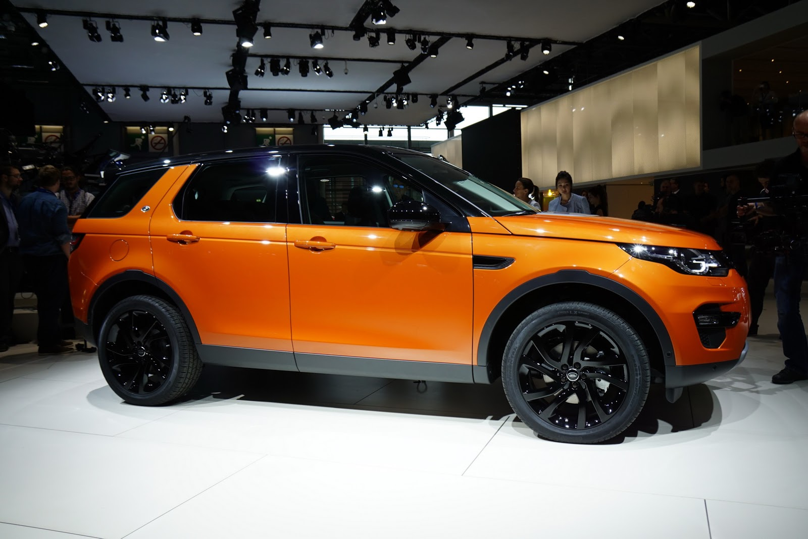 Discovery Sport In Orange Land Rover Discovery Sport