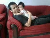 Hadiva bersama ayah