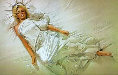 Ilustraciones de la Famosa Marilyn Monroe