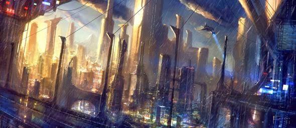 Tom Edwards ilustrações artes conceituais fantasia ficção científica