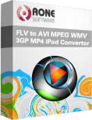 FLV to AVI MPEG WMV 3GP MP4 iPod Converter 5.3.0402