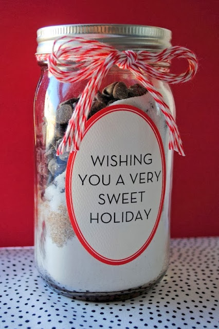 Holiday cookie mix - Christmas gift