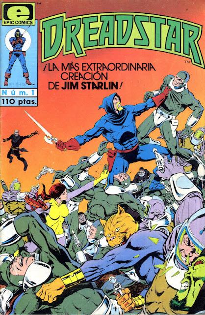 COLECCIÓN DEFINITIVA: OTROS COMICS MARVEL [UL] [cbr] DreadStar+Jim+Starlin+1982