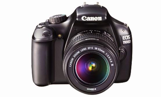Harga dan Spesifikasi Kamera DSLR Canon EOS 1100D