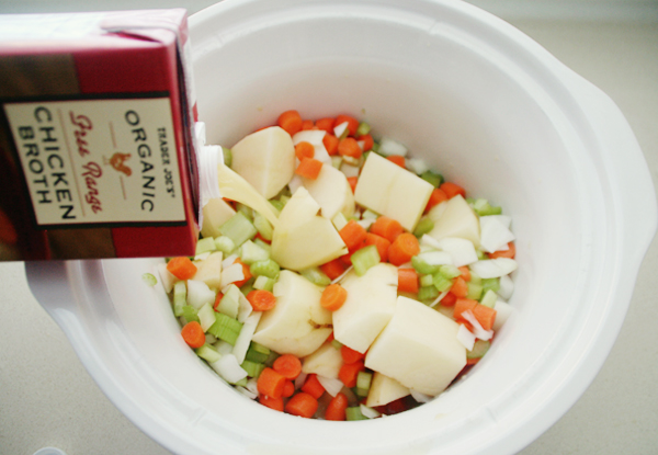 easy crockpot potato soup (gluten free)