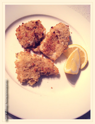 cooking. eating. carousing.: oven-fried fish with fennel crust