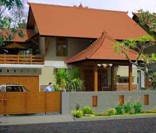 Desain Rumah Etnik Jawa Minimalis