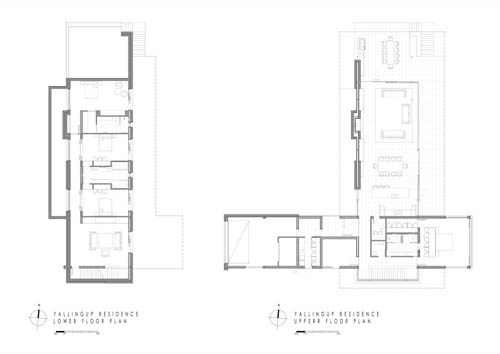 architecture Yallingup Residence floor plan