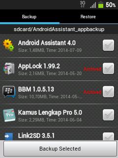 Cara Backup Aplikasi Android Tanpa Root