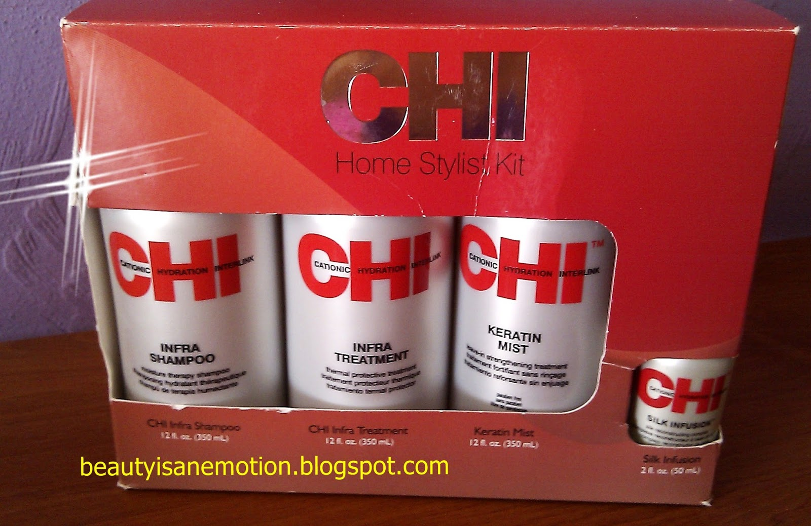 CHI Farouk θεραπεία μαλλιών review
