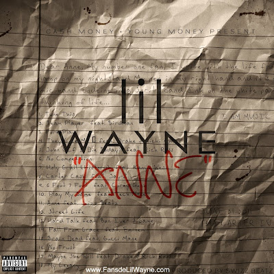 portada del single anne de lil wayne tha carter IV