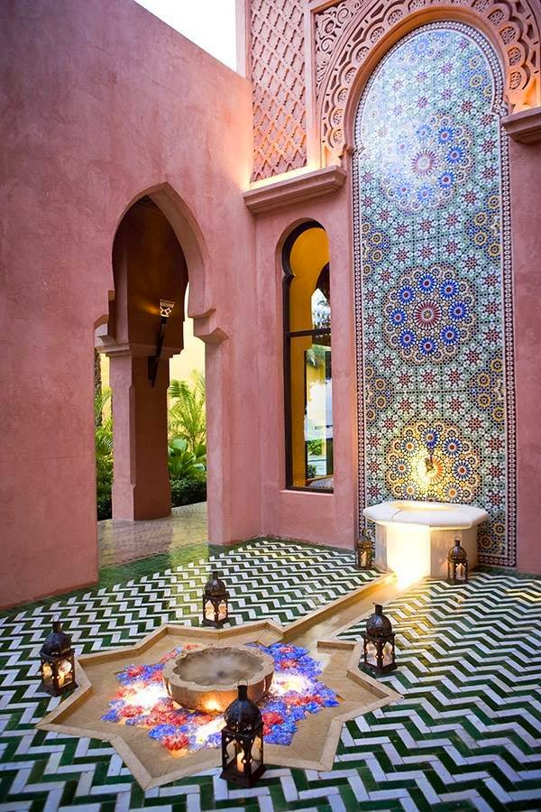 Moroccan decor for Decoration maison islam