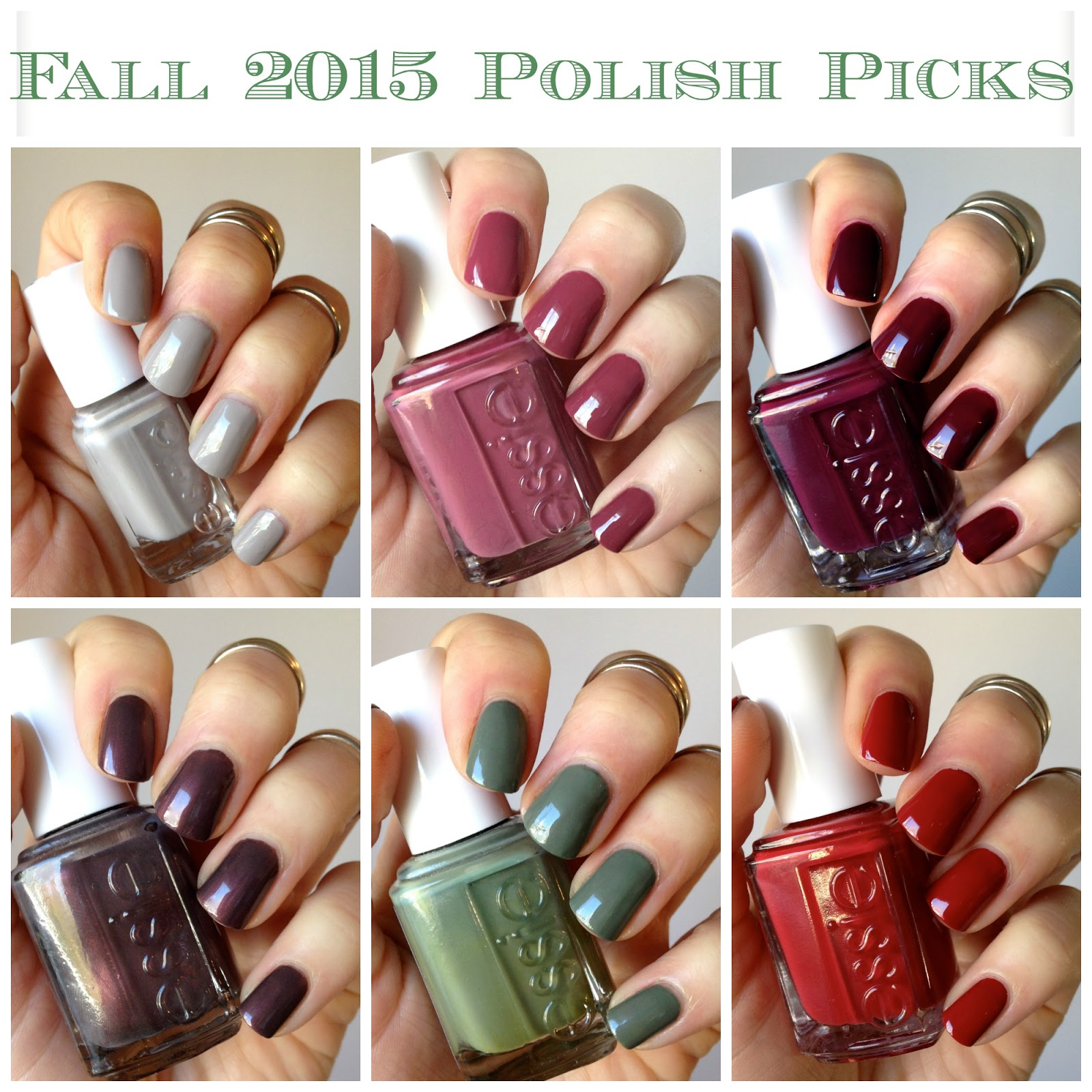 Fall 2015 Polish Picks | Essie Envy