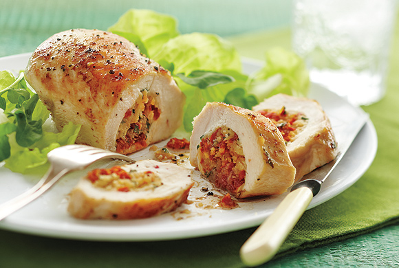 Stuffed Chicken with Herbed Cheese | Food | Recipes - worldwide ...