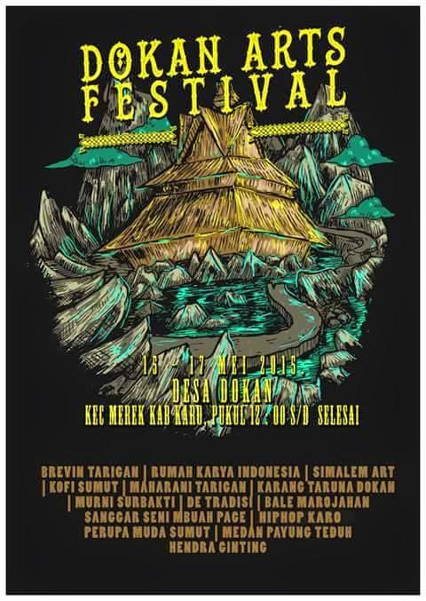 Dokan Art Festival, 15-17 Mei 2015