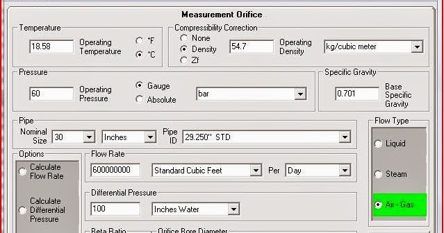 How to Size an Orifice Plate Flow Meter with Software ...