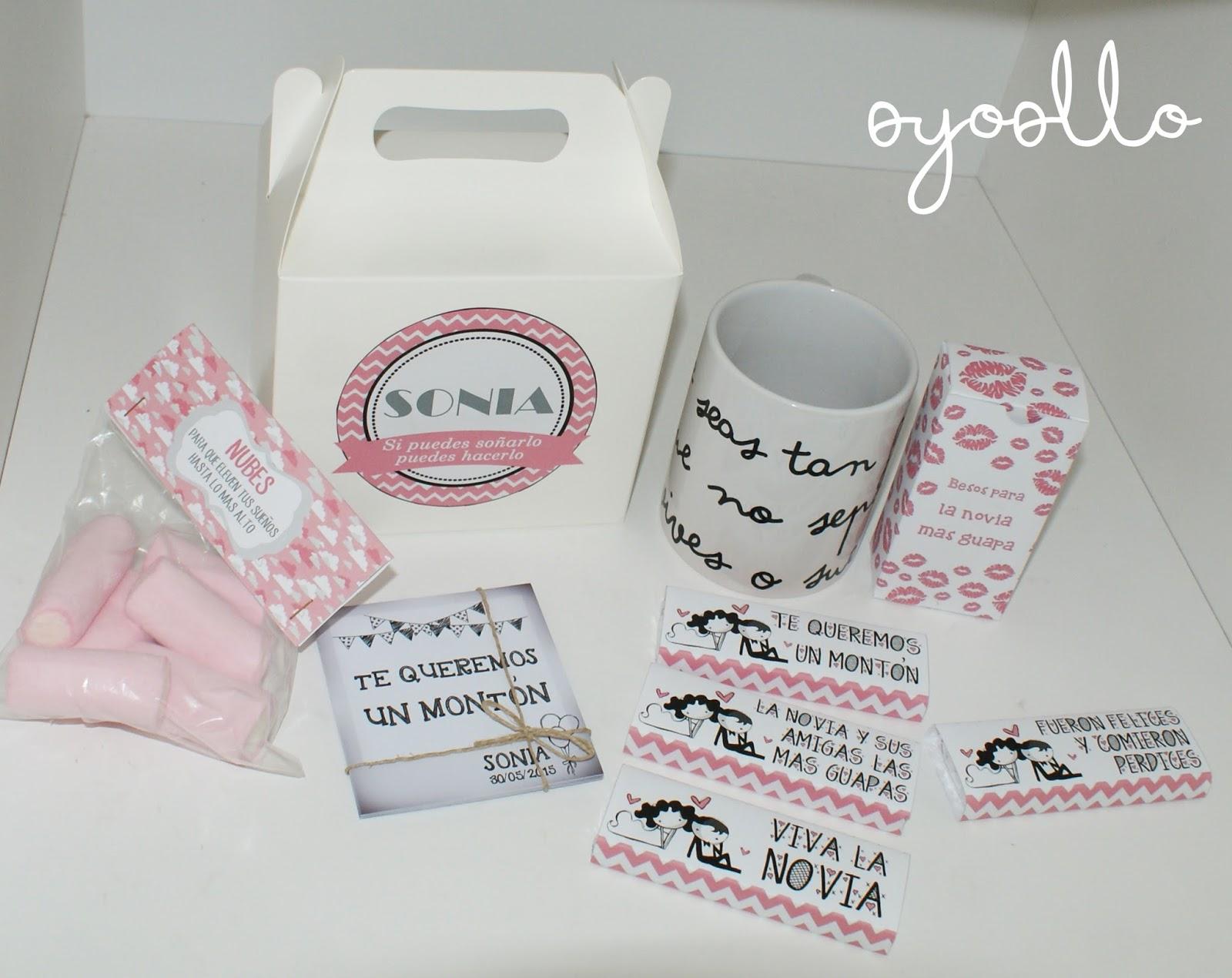 Oyoollo regalo original de boda para sonia for Regalo para amigas especiales boda