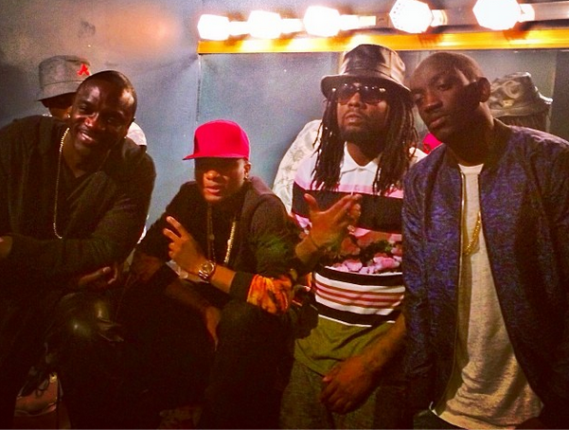Wizkid's concert: Akon and Wale performed with him in New York.