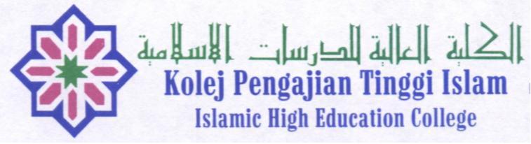 KOLEJ PENGAJIAN  TINGGI ISLAM