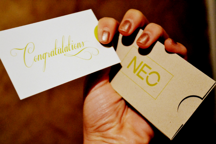 adidas neo congratiolations card