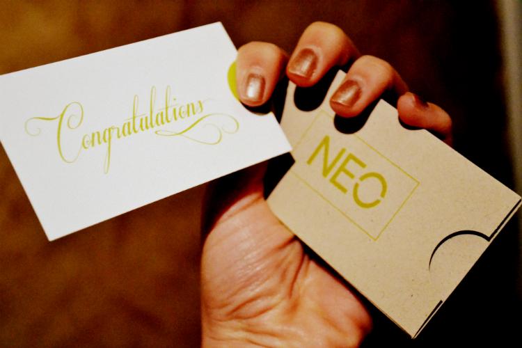 adidas neo congratiolations card