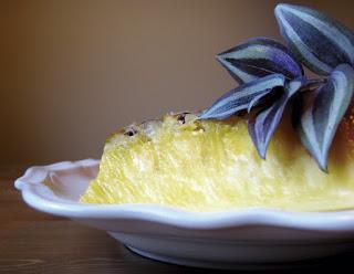 Paçoca cremosa de abacaxi diet