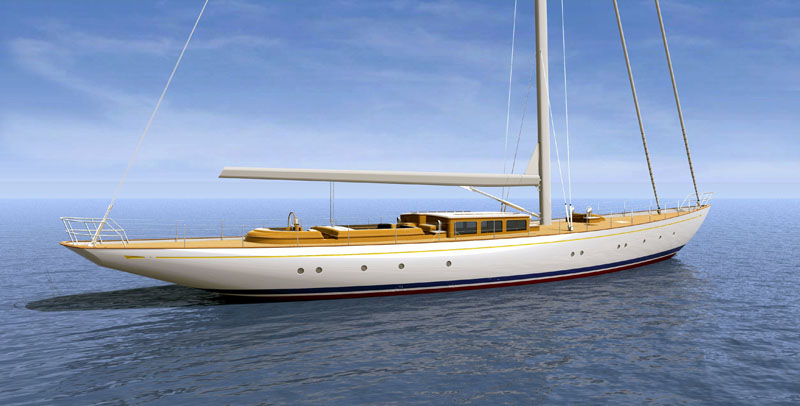 Both yachts are of similar design and both sport elegant deckhouses with ...