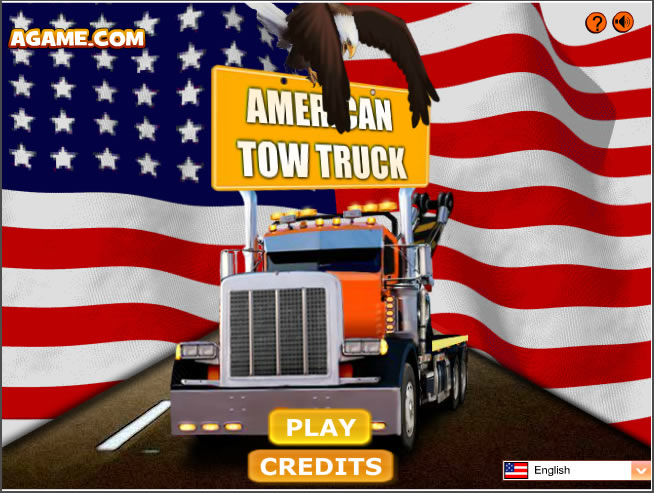 Truck Game : American Tow Truck