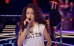 Eva Ruiz a la final de La Voz Kids