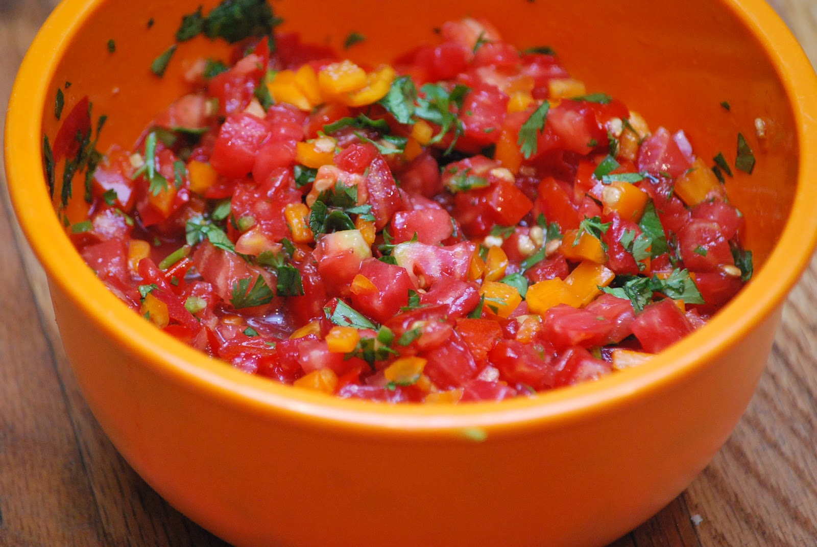 My story in recipes: Fresh Salsa